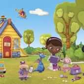 Disney Doc McStuffins XL Wall Mural