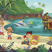 Jake And The Neverland Pirates Wallpaper Border