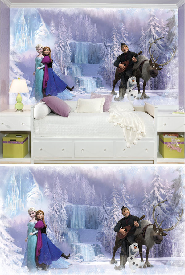 Disney Frozen XL Wall Mural - Wall Sticker Outlet