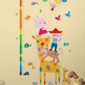 Lazoo Growth Chart Wall Decals