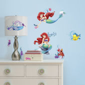 Disney Little Mermaid Walls Decals