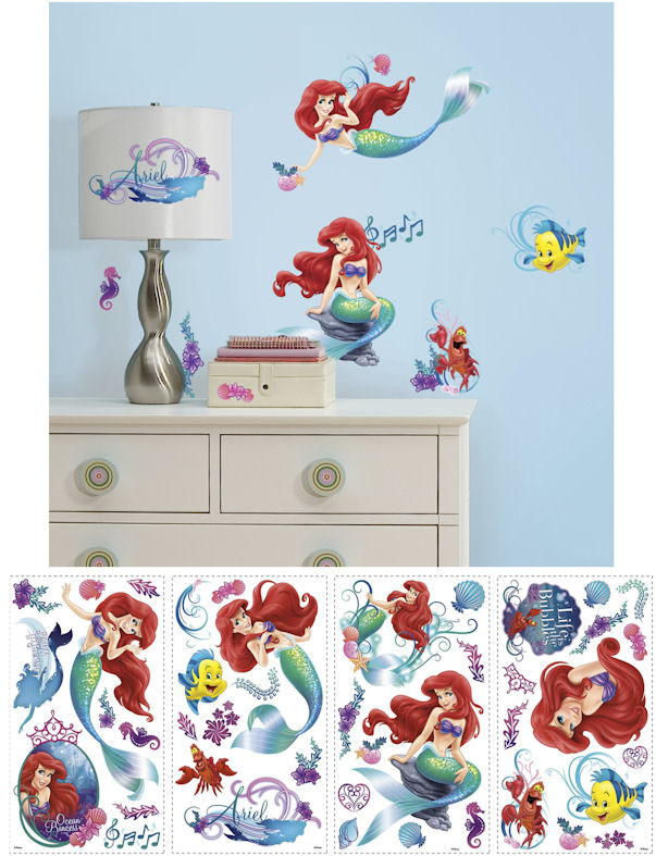 Disney Little Mermaid Walls Decals - Wall Sticker Outlet