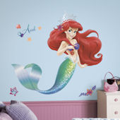 Disney The Little Mermaid Giant Wall Decal