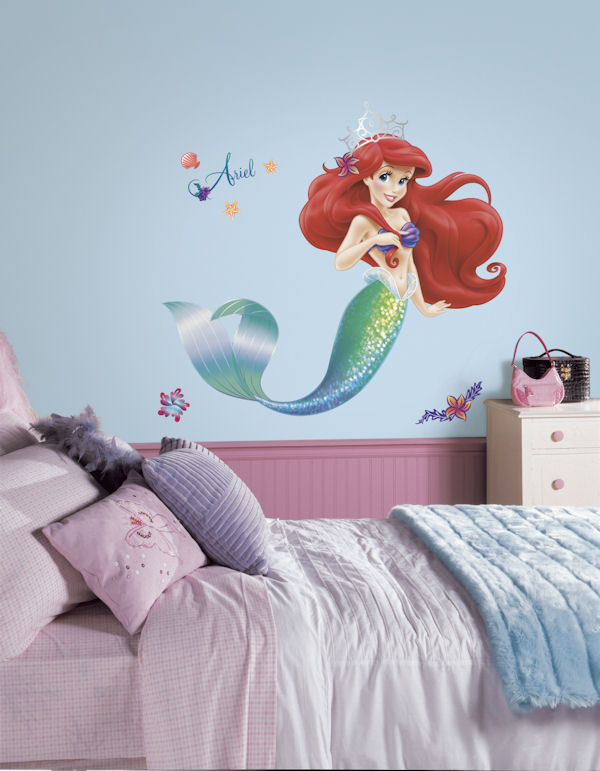 Disney The Little Mermaid Giant Wall Decal - Wall Sticker Outlet