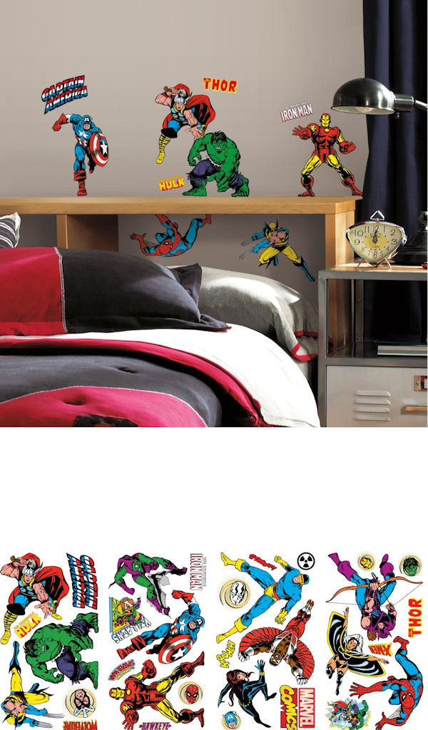 Marvel Classics Wall Decals - Wall Sticker Outlet