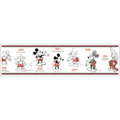 Mickey Mouse 1928-2010 Prepasted Border