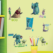 Monsters Inc Peel and Stick Wall Decals