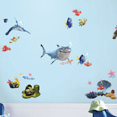 New Finding Nemo Peel and Stick Wall Decals