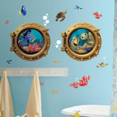 Finding Nemo Giant Porthole Peel & Stick Decals