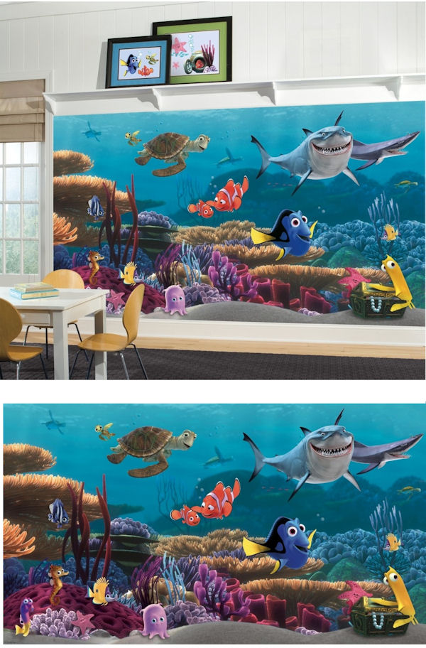 Finding Nemo XL Mural   Wall Sticker Outlet