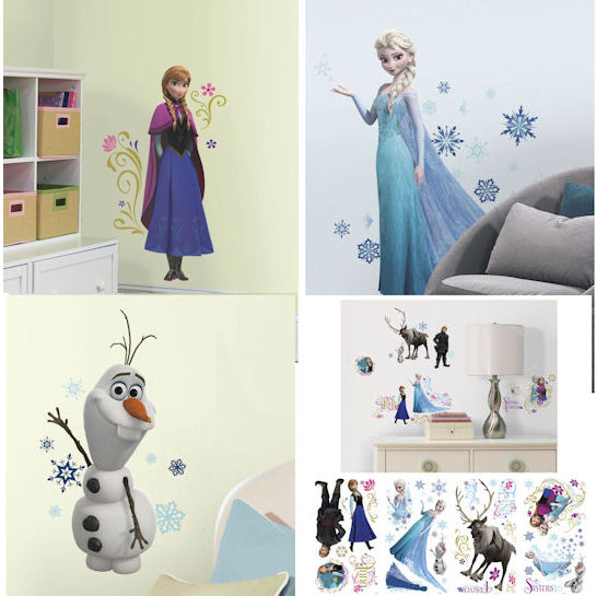Disney New Frozen Room Package  - Wall Sticker Outlet
