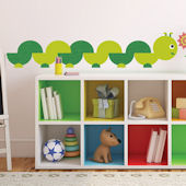 ONE decor Book Worm Giant Wall Decals