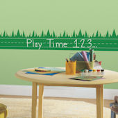 ONE decor Learning Lawn Chalkboard Wall Decals