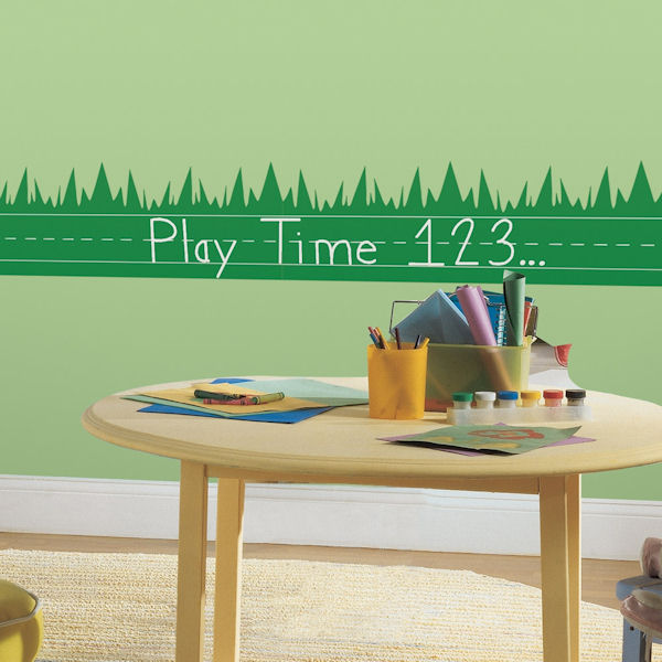 ONE decor Learning Lawn Chalkboard Wall Decals - Wall Sticker Outlet