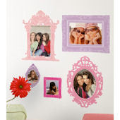 Pink and Purple Frames Wall Decals