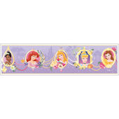Princess Frames Purple Prepasted Wallpaper Border