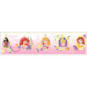 Princess Frames White Prepasted Wallpaper Border