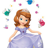 Princess Sofia Giant Peel and Stick Decal