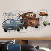 Disney Pixar Mater Giant Wall Decal