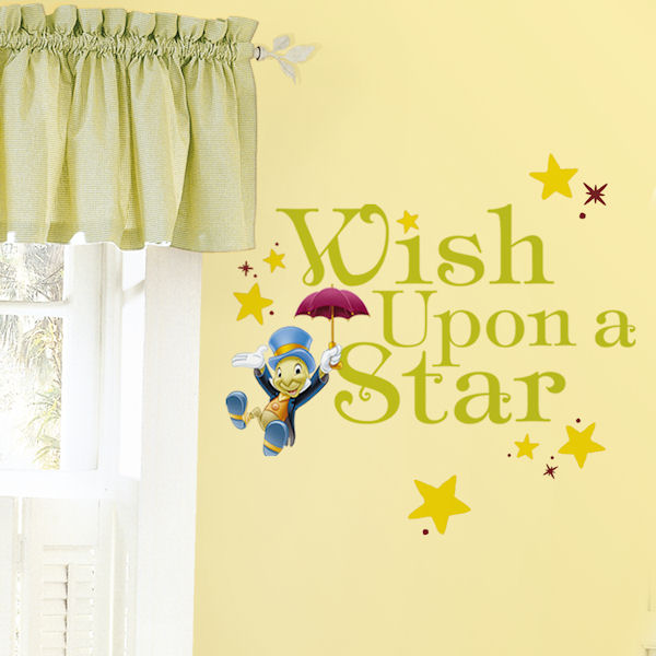 Wish Upon A Star Peel and Stick Decals - Wall Sticker Outlet