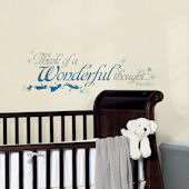 Peter Pan Wonderful Thought Peel and Stick Decals