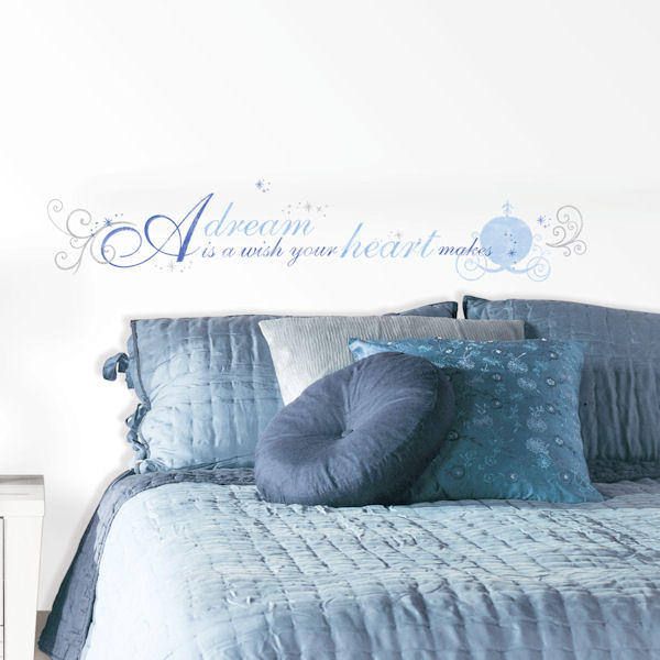 Cinderella A Dream is a Wish  Wall Decals - Wall Sticker Outlet