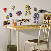 Transformers Age of Extinction Peel Stick Decals
