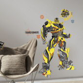 Transformers Age Extinction Bumblebee Giant Decal