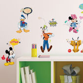 Mickey and Friends Animated  Fun Wall Decals