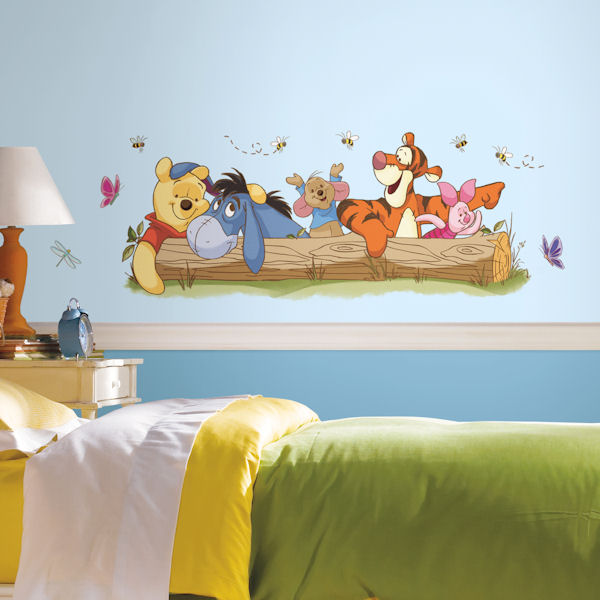 Winnie the Pooh Outdoor Fun Giant Wall Decals - Wall Sticker Outlet