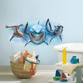 Finding Nemo Sharks Giant Wall Decals