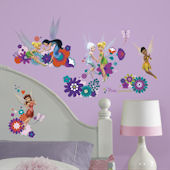 Disney Fairies Best Fairy Friends Wall Decals