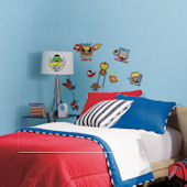 Marvel Superhero Kawaii Art Wall Decals