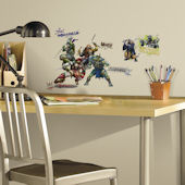 Teenage Mutant Ninja Turtles Movie Wall Decals
