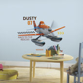 Planes Fire and Rescue Dusty Giant Wall Decals
