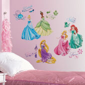 Disney Princess Royal Debut Peel and Stick Decals