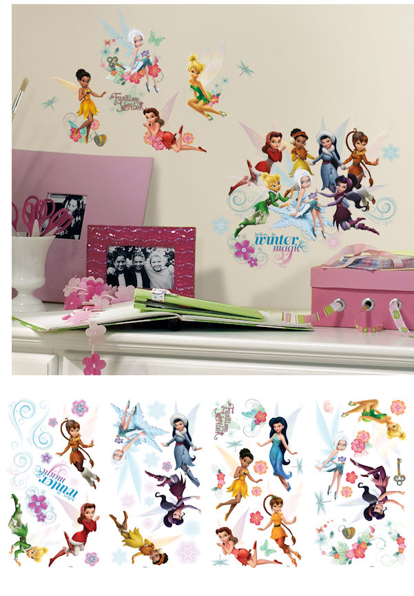 Disney Fairies Secret of the Wings Decals - Wall Sticker Outlet