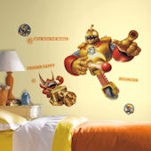 Skylanders Giants Bouncer & Trigger Happy Decals