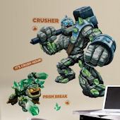 Skylanders Giants Crusher & Prism Break Decals