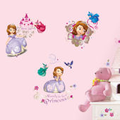 Sofia The First Peel and Stick Decals