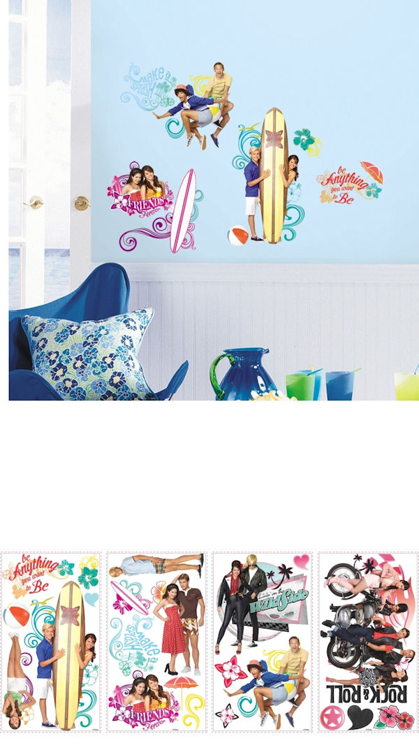 Teen Beach Movie Wall Decals - Wall Sticker Outlet