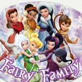 Tinker Bell Family Custom Wall Decal
