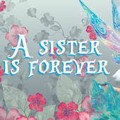 Tinker Bell A Sister is Forever Custom Wall Decal