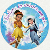 Tinker Bell Winter Magic Custom Wall Decal