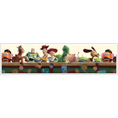 Toy Story Cream Prepasted Wallpaper Border