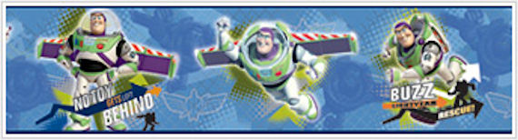 Toy Story To The Rescue Wallpaper Border - Wall Sticker Outlet