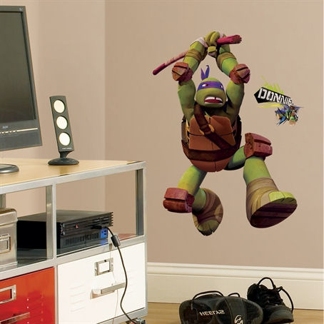Teenage Mutant Ninja Turtles Donatello Wall Decal - Wall Sticker Outlet
