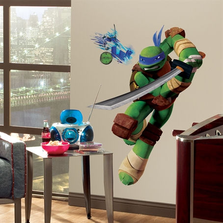 Teenage Mutant Ninja Turtles Leonardo Wall Decal - Wall Sticker Outlet