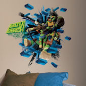 Teenage Mutant Ninja Turtles Brick Poster Sticker