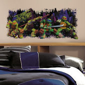 Teenage Mutant Ninja Turtles Turtle Trouble Decal